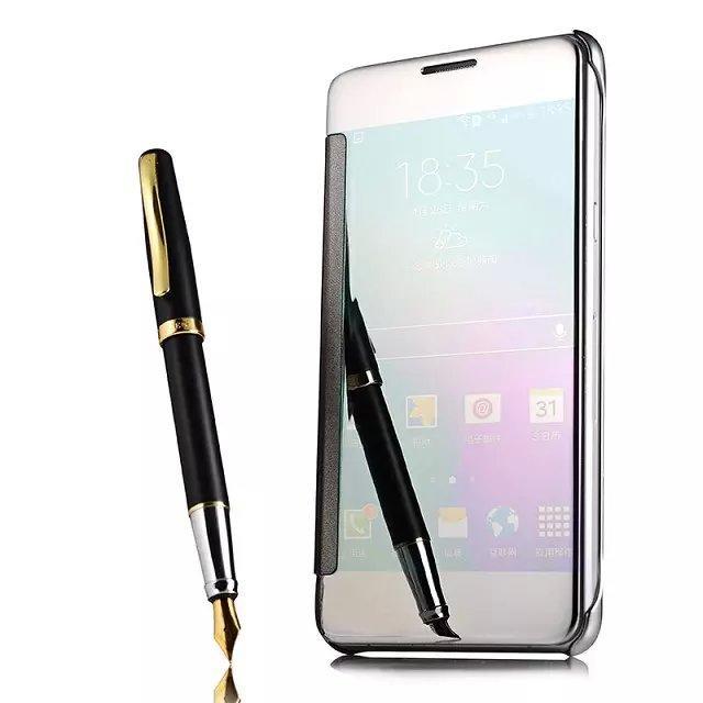 Untuk Samsung Galaxy J7 NXT \ J701M J7 Neo \ J701F/DS Cermin Pintar Flip