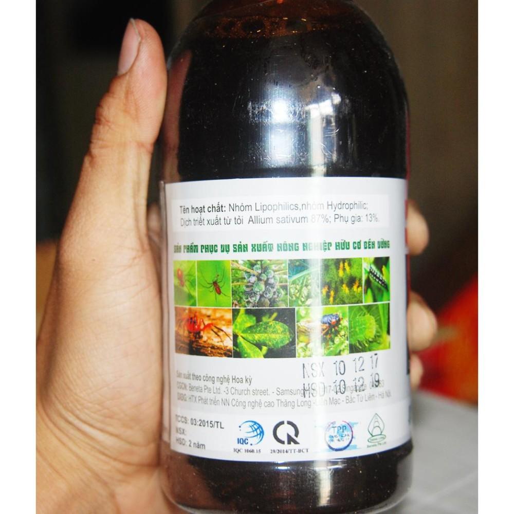 Hình ảnh Thuốc trừ sâu sinh học Allium an toàn cho gia đình theo Global Gap 500 ml