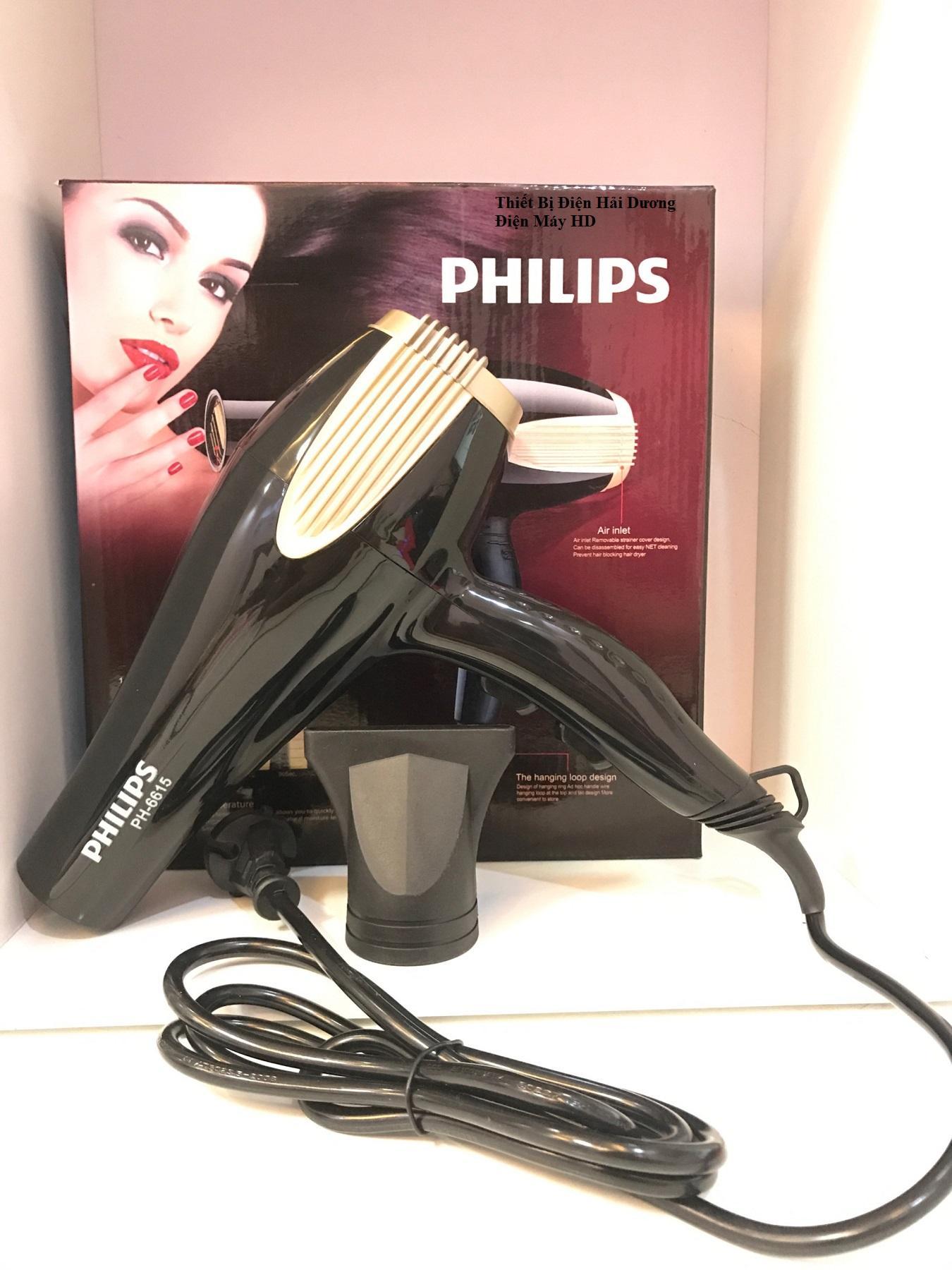 Hình ảnh Máy sấy tóc cao cấp PL PH-6615 2 Chiều 3000W (Đen)