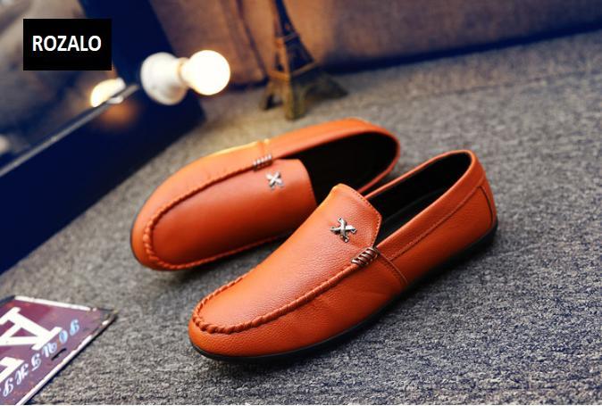 Giày lười nam kiểu công sở Rozalo RM51005-Cam2.png