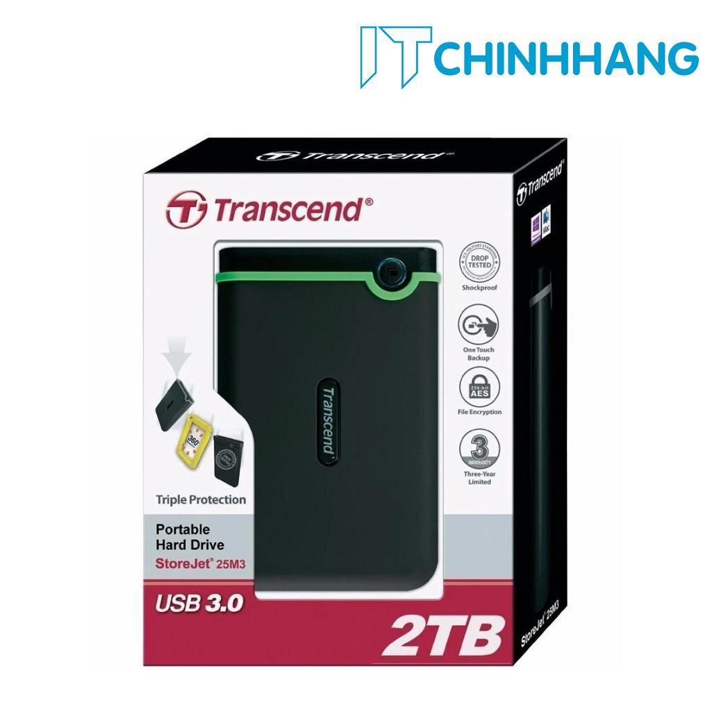 Ổ Cứng Di Động Hdd Transcend 2Tb M3 Hang Phan Phối Chinh Thức Transcend Chiết Khấu 50