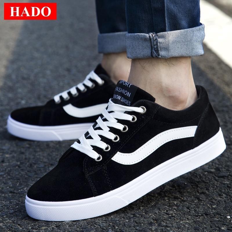Hình ảnh Giày Sneaker Nam Siêu Hot Mẫu Mới DOHA Shop S56T68B Black