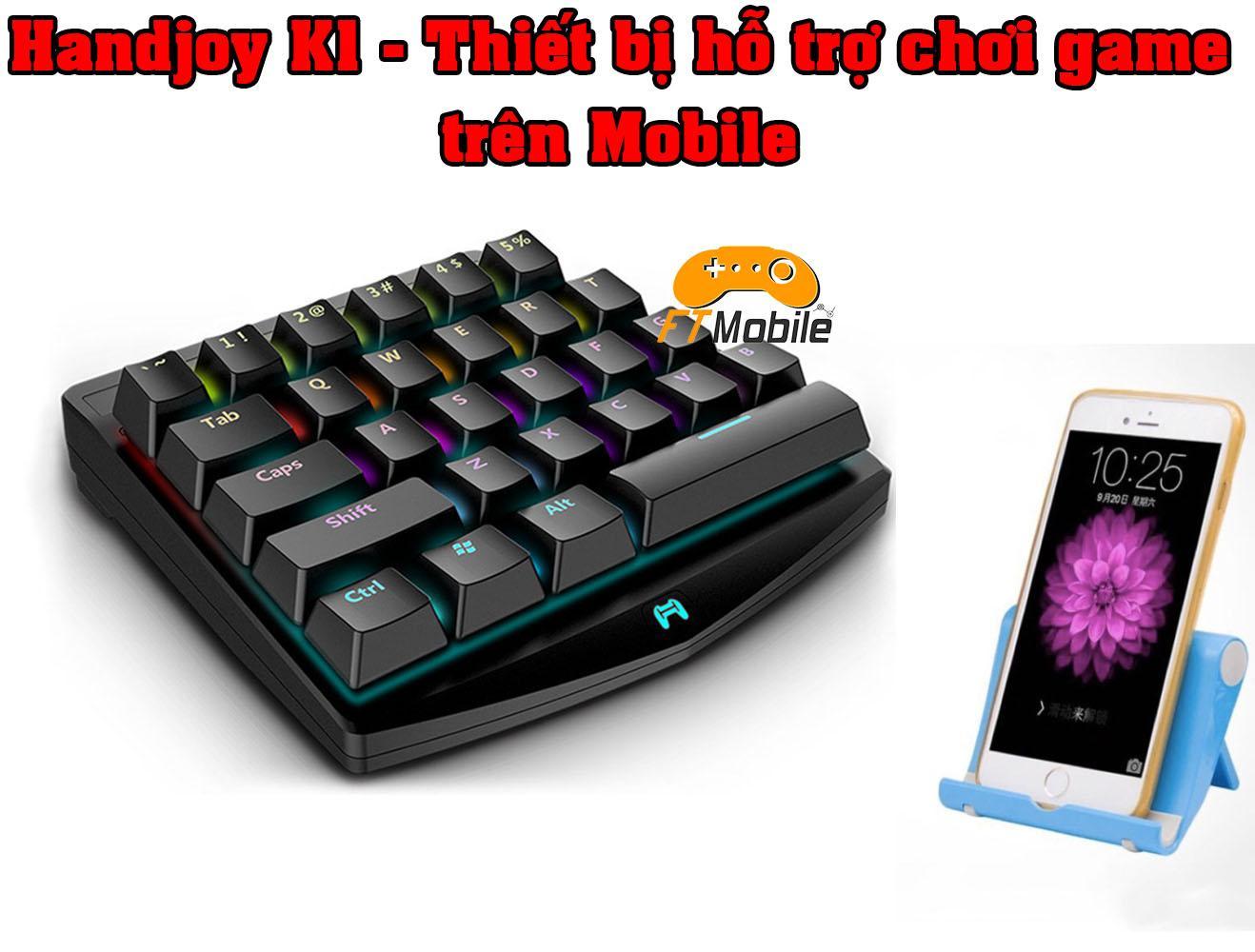 Hình ảnh Handjoy K1 - Thiết Bị Hỗ Trợ Chơi Game Chuyên Nghiệp(Tặng Giá đỡ điện thoại quá chất)