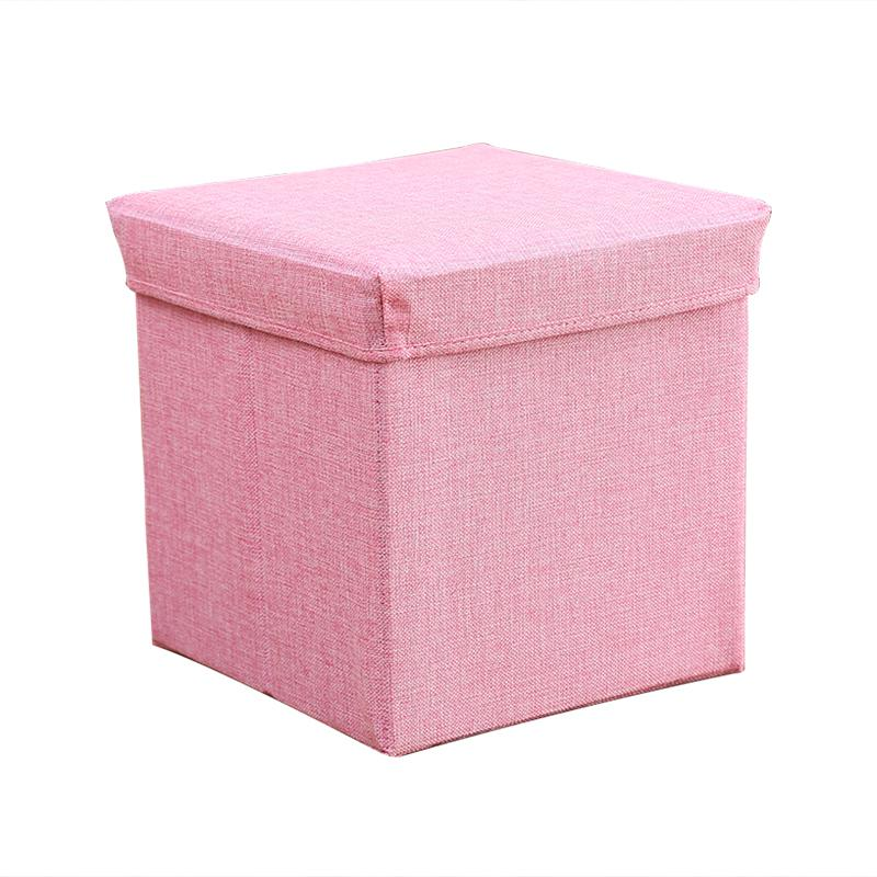 Storage Chair Shoes Short Stool Fashion Living Room Sofa Stool Creative Storage Stool Household Fabric Foot Bench Small Stool