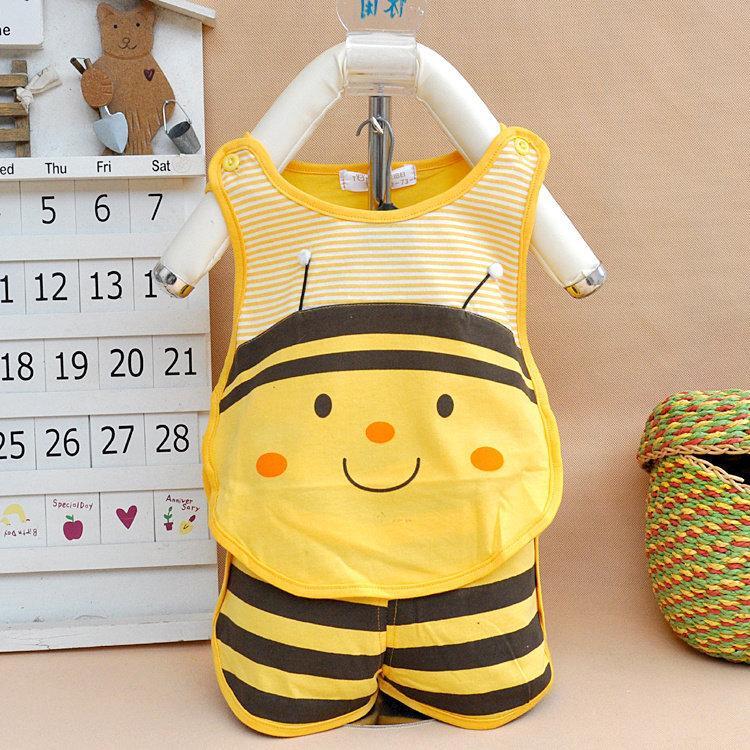 Hình ảnh Bộ đồ mùa hè con ong cho bé (M83)