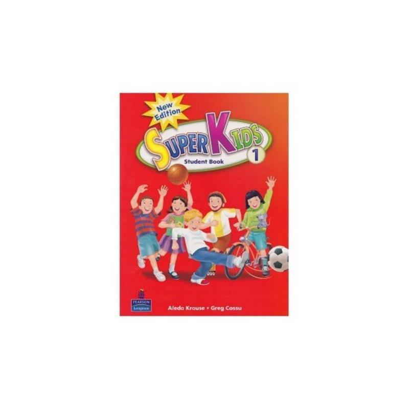 Mua Sách tiếng Anh Super Kids 1 (Student Book) cho bé từ 2 tuổi.