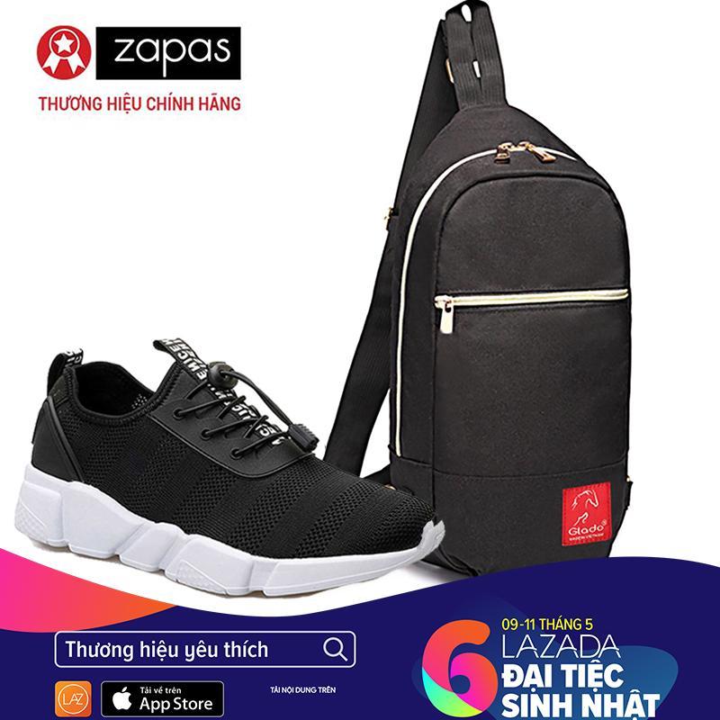 Chiết Khấu Giày Sneaker Thời Trang Nam Zapas Gz023 Màu Đen Tui Messenger Thời Trang Dcg028 Đen Zapas Hồ Chí Minh