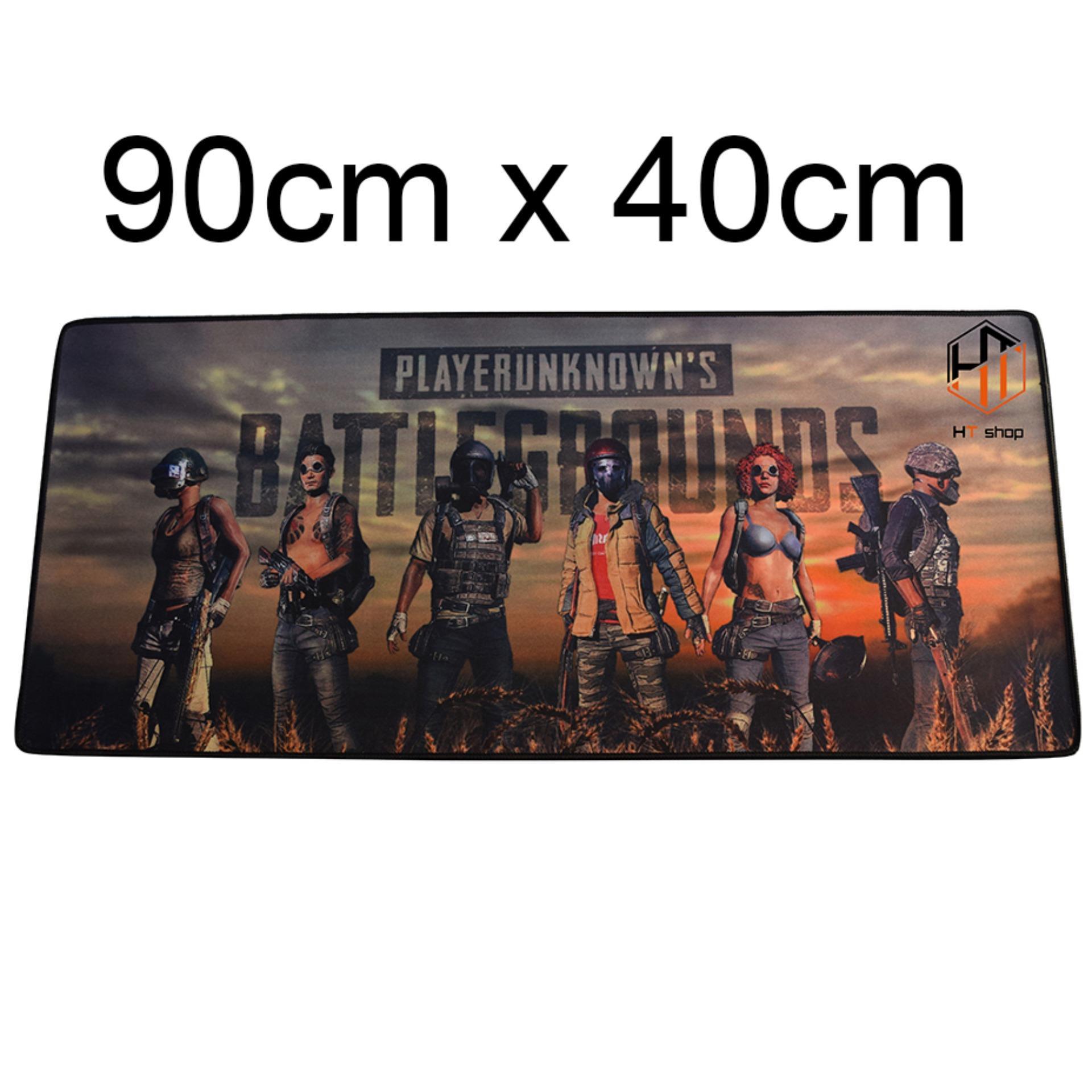 Hình ảnh Bàn di chuột, pad PUBG, bàn di PUBG 02 khổ lớn 90cm x 40cm