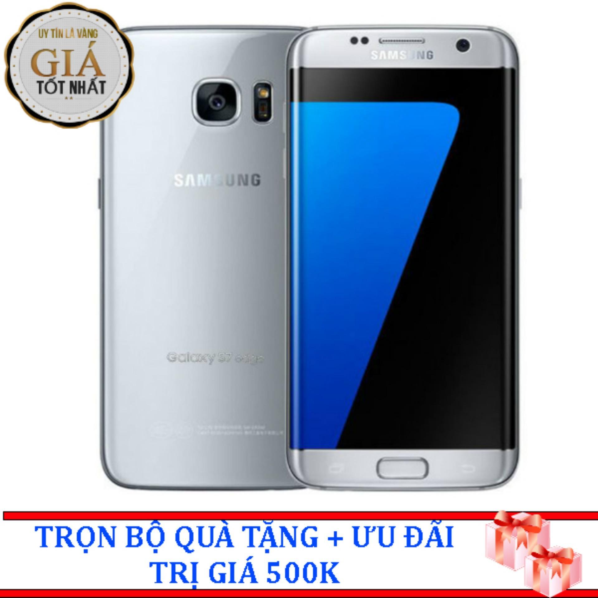 Bán Samsung Galaxy S7 Edge 32Gb Bạc Hang Nhập Khẩu Mới