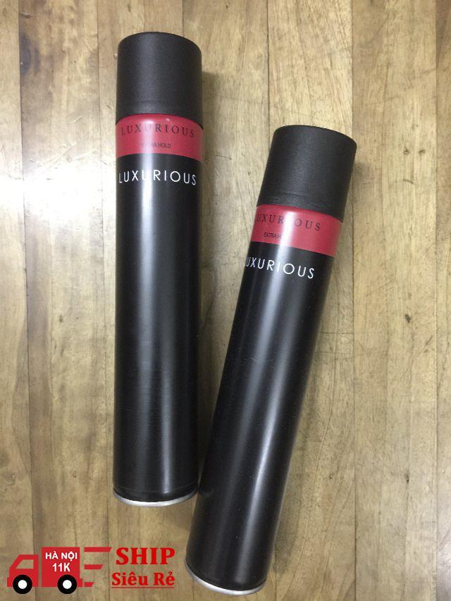 Hình ảnh Gôm Xịt tóc đen đỏ 400ml - Tạo kiểu tóc chuyên nghiệp
