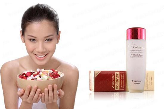 Nước Hoa Hồng Tái Tạo Làm Sáng Da 3W Clinic Collagen Regeneration Softerner (150ml)