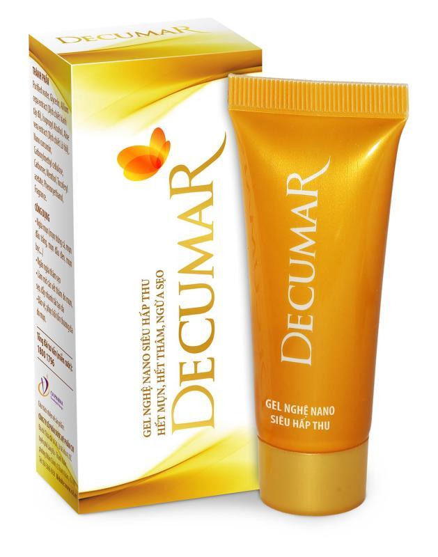 Kem nghệ nano Decumar 20g trị mụn viêm, ngừa thâm sẹo nhập khẩu