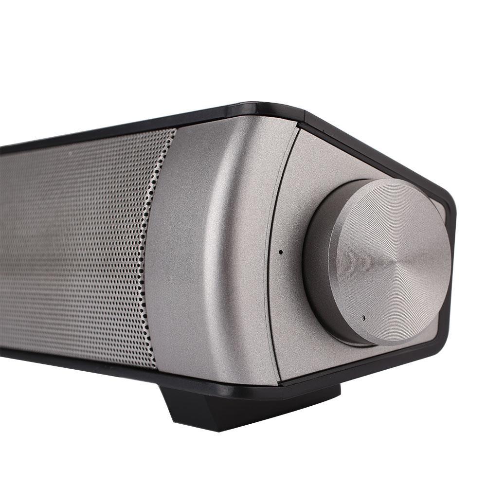 Giới thiệu KawhiMall Bluetooth 4.1 Sound Bar Handsfree Music Speaker Subwoofer Home Theater Soundbar