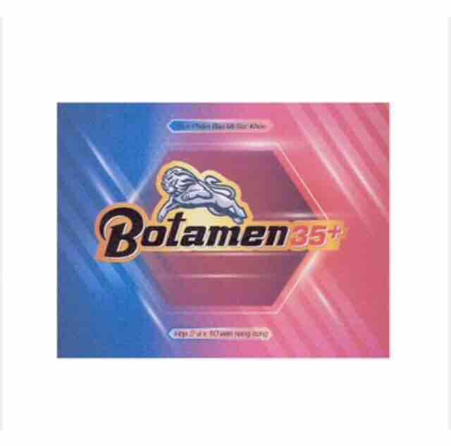 Botamen 35+ hỗ trợ tình dục nam nhập khẩu