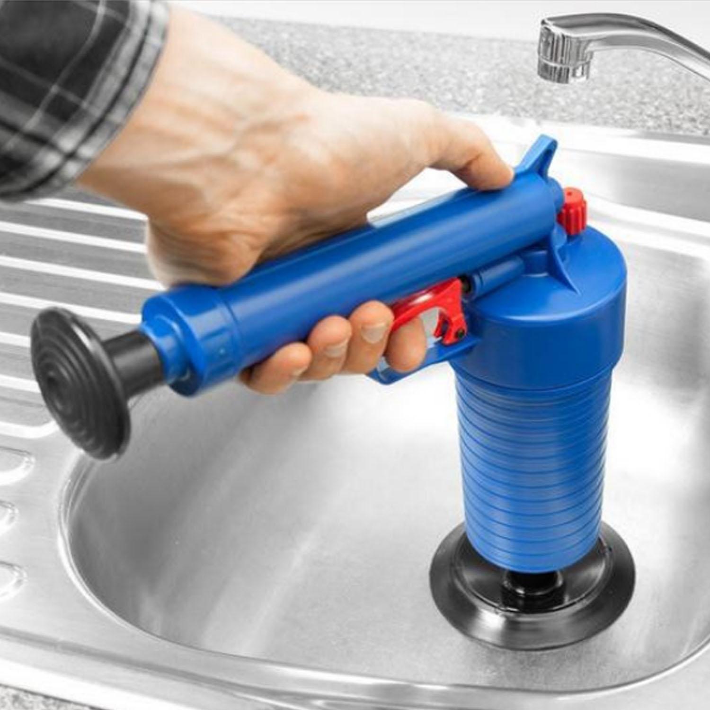 Áp Lực Không Khí Thoát Blaster Bụi Bơm Tỳ Tản Ống Clog Tẩy Nhà Vệ Sinh Nhà Tắm Rửa Nhà Bếp-quốc tế