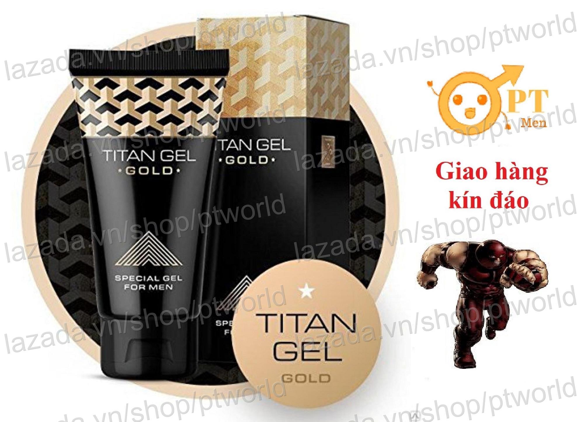 Bán Titan Gel Gold Phien Bản Đặc Biẹt Premium Tăng Kích Thước Dương Vật Và Chóng Xuát Tinh Sớm Rẻ Trong Đồng Nai
