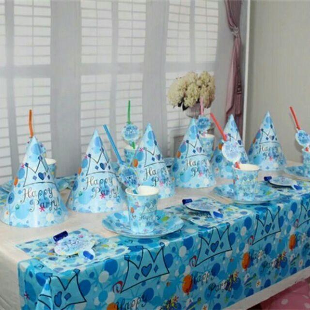 Hình ảnh Set trang trí bàn tiệc sinh nhật cho bé