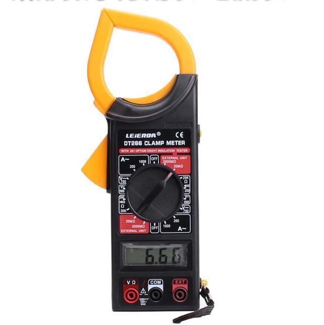 Đồng hồ kẹp dòng Ampe kìm, đo vạn năng DT266