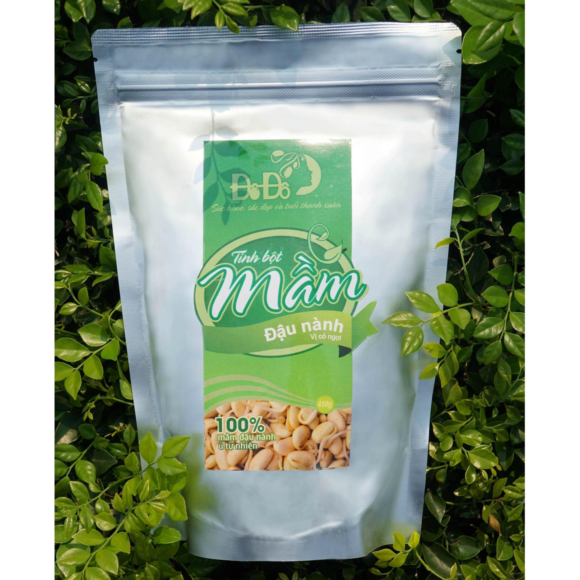 Hình ảnh Tinh Bột Mầm Đậu Nành Đô Đô set 3 gói 90g (hàm lượng cao vị cỏ ngọt)