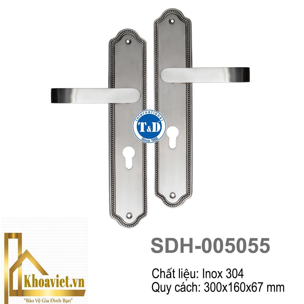 Khóa Tay Gạt Inox SDH-005055