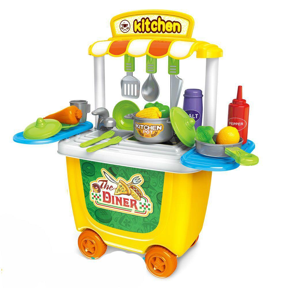 Hình ảnh Đồ chơi xe đẩy Bowa dụng cụ làm bếp 8326 cho bé