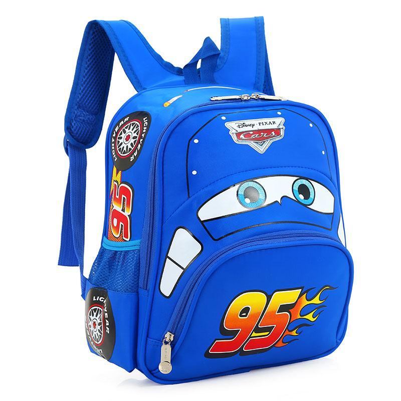 d9e8a785af19 Children s Car Story Lightning McQueen School bag bags girl women And boy  men 3-4