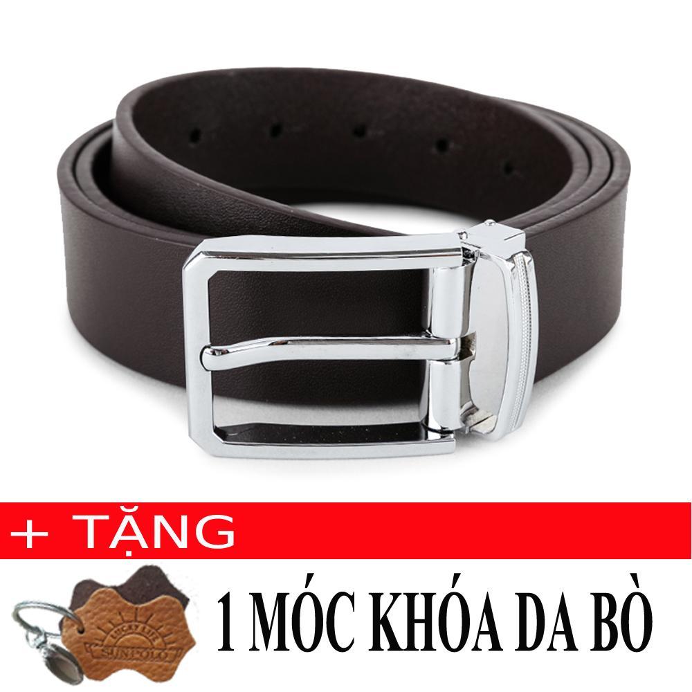 Thắt Lưng Nam Da Bo Khoa Kim Đơn Giản Sunpolo Bs02N Nau Tặng Moc Khoa Da Bo Hồ Chí Minh Chiết Khấu 50