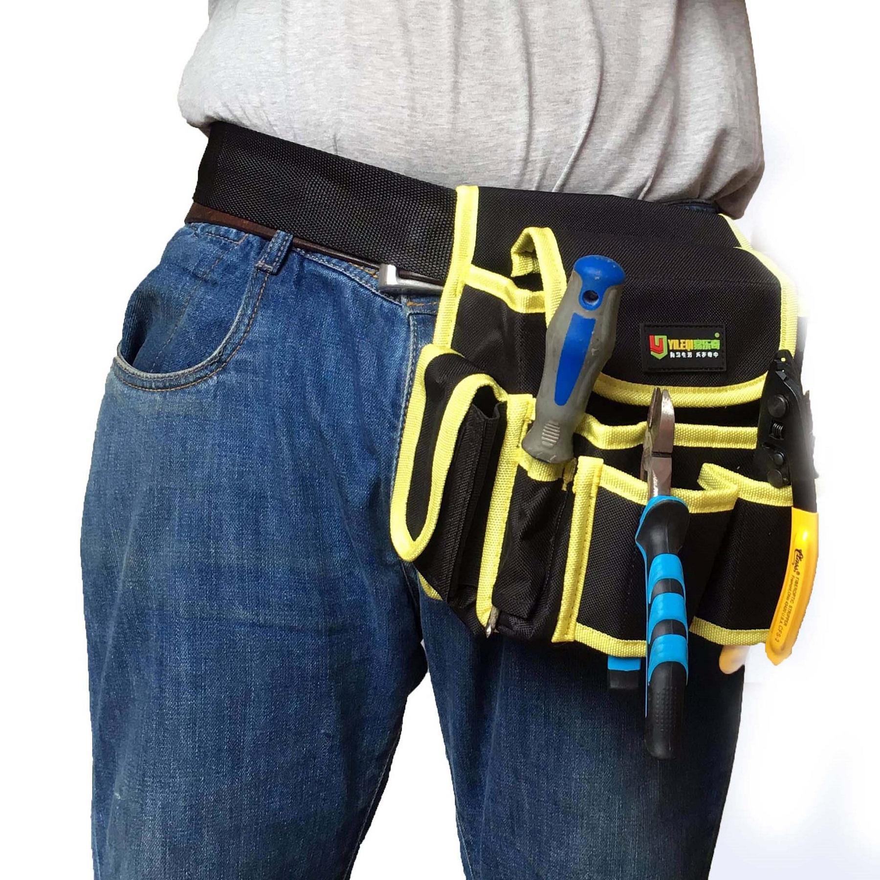Hình ảnh túi đeo đồ nghề cho thợ điện , nước , cơ khí Yileqi-104