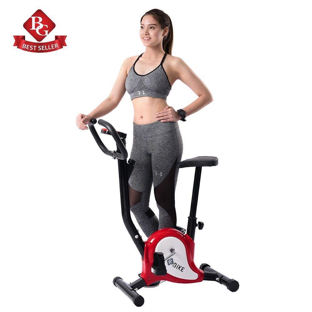 Hình ảnh B&G Xe đạp tập thể dục tại nhà EXERCISE BIKE-YS01(Orange/red)