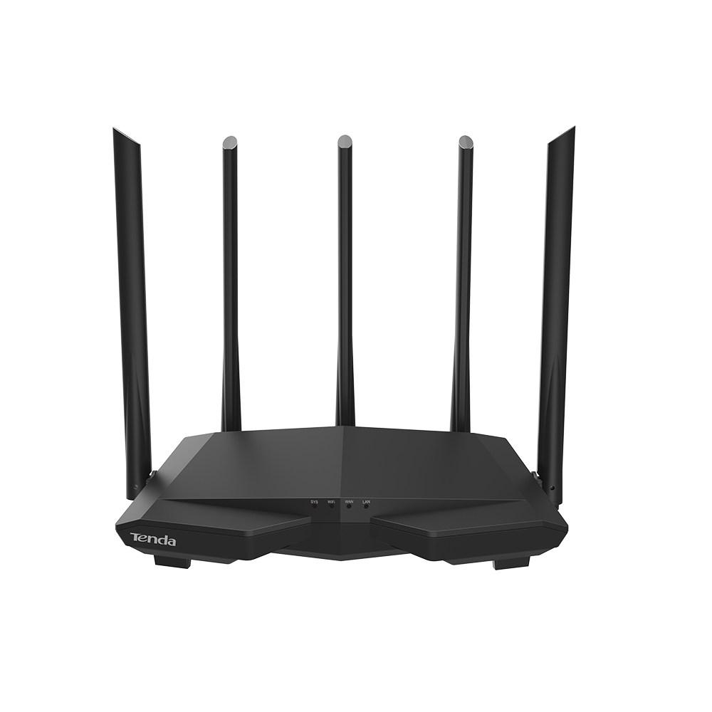 Hình ảnh Bộ Phát Wifi Tenda AC7, Hai Bằng Tần, Tốc Độ 1167Mbps, 5 anten 6dbi Cho Khả Năng Phủ Sóng Mạnh Mẽ - hàng nhập khẩu