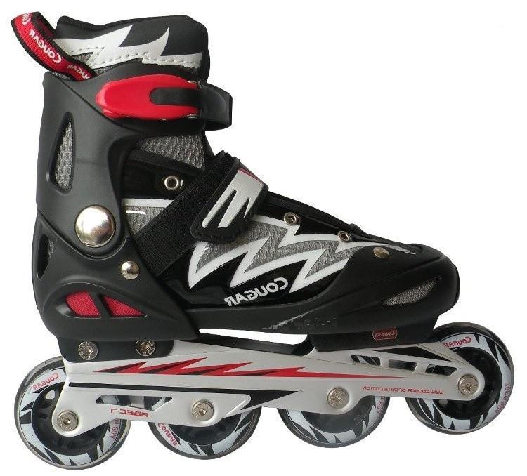 Giày Trượt Patin Cougar Ms835lsg Đen ( Size 30-33 ) By Shopxedap (tp.hcm).