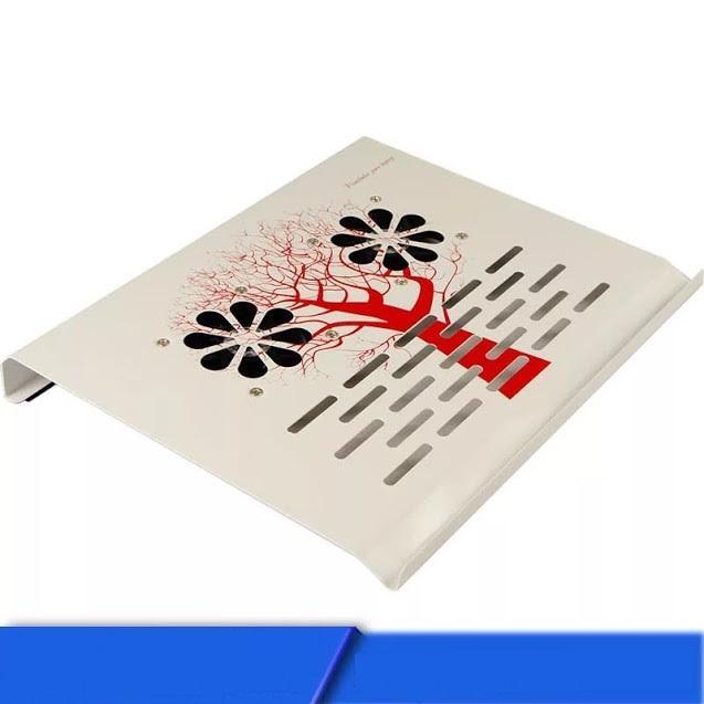 Hình ảnh Đế Tản Nhiệt Laptop VAMAR 2 Quạt, Hợp Kim Siêu Bền