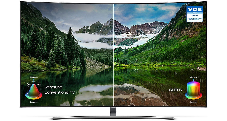 Hình ảnh Tivi Samsung 55 inchs QLED QA55Q8CNAK