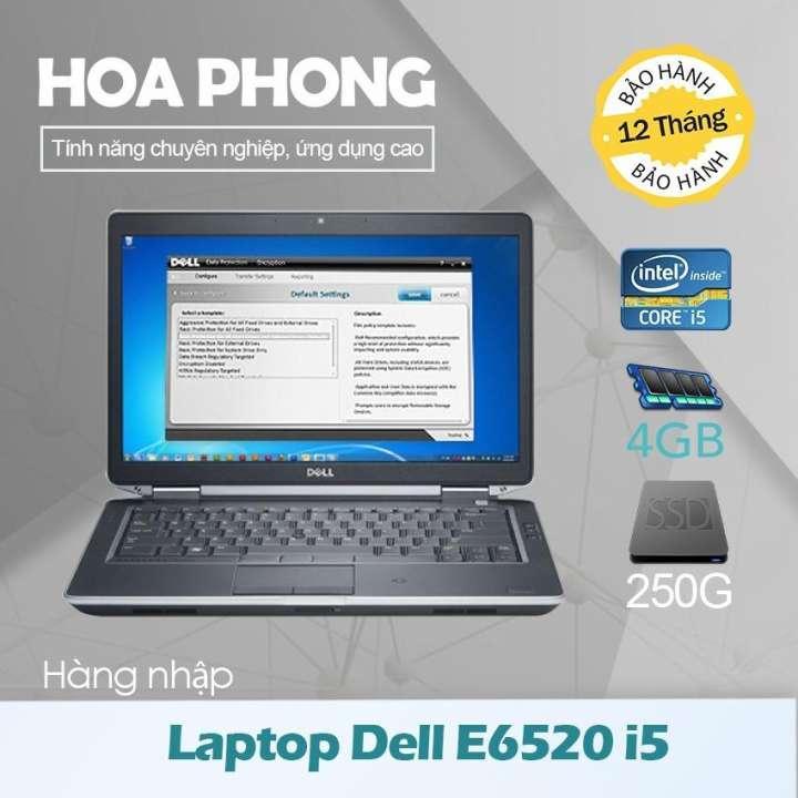 Laptop Dell Latitude E6520 Core i5 2520 /4G/HDD 250G/ VGA HD/Màn 15.6inch - Hàng nhập khẩu