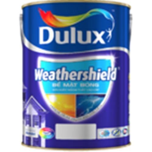 Hình ảnh Sơn nước ngoại thất cao cấp Dulux Weather Shield - bề mặt mờ/ bóng
