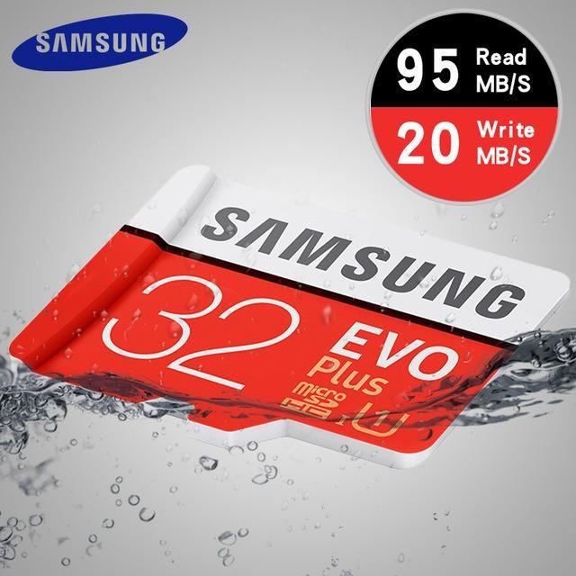 Giá Bán Thẻ Nhớ Microsdhc Samsung Evo Plus U1 32Gb 95Mb S New Nhãn Hiệu Samsung