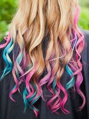 Bộ phấn nhuộm tóc màu Hot Huez 7