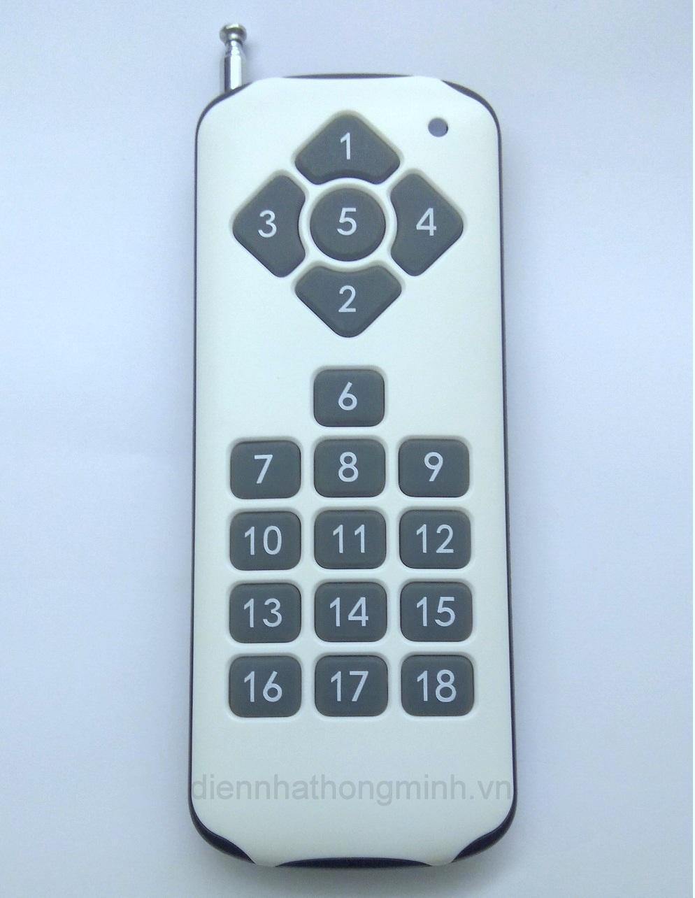 Hình ảnh Remote 18 nút nhấn