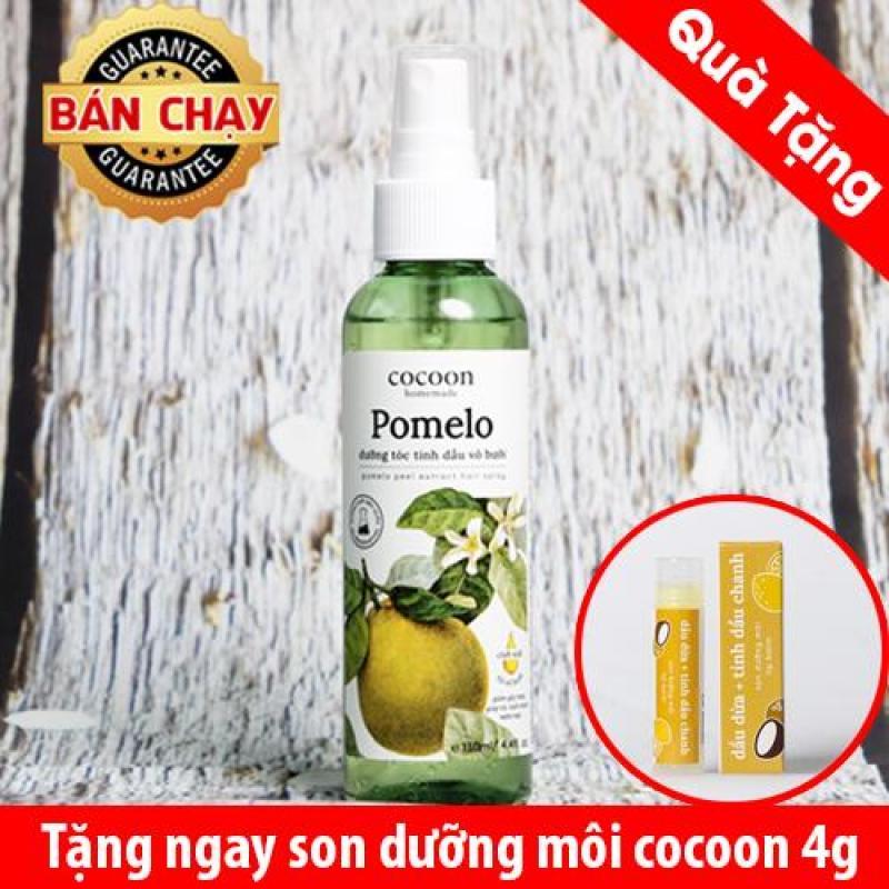 Tinh dầu bưởi COCOON giúp mọc tóc, chống rụng tóc 130ml Tặng 1 son tốt nhất