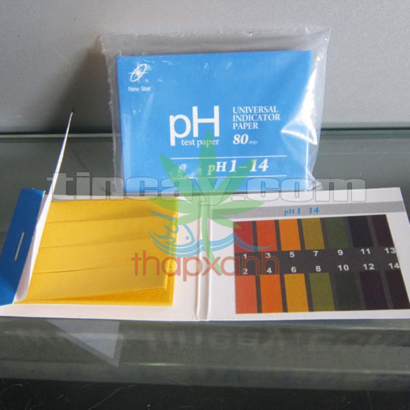 Hình ảnh Combo 2 gói quỳ tím kiểm tra độ PH (Mỗi gói 100 tờ)
