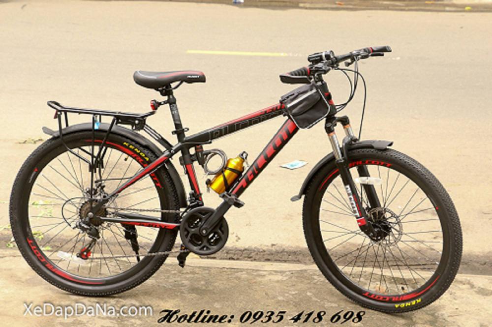 Xe đạp thể thao ALCOTT 530XC màu đỏ đen