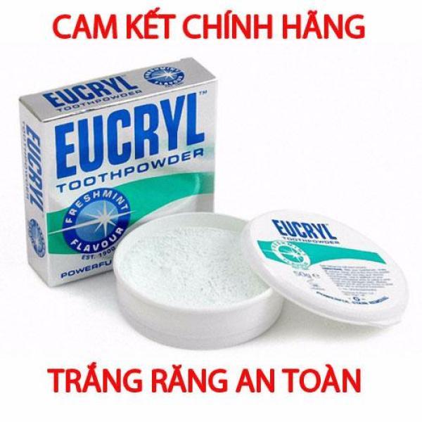 Bột tẩy trắng răng Eucryl 50g từ Anh Quốc Mẫu mới