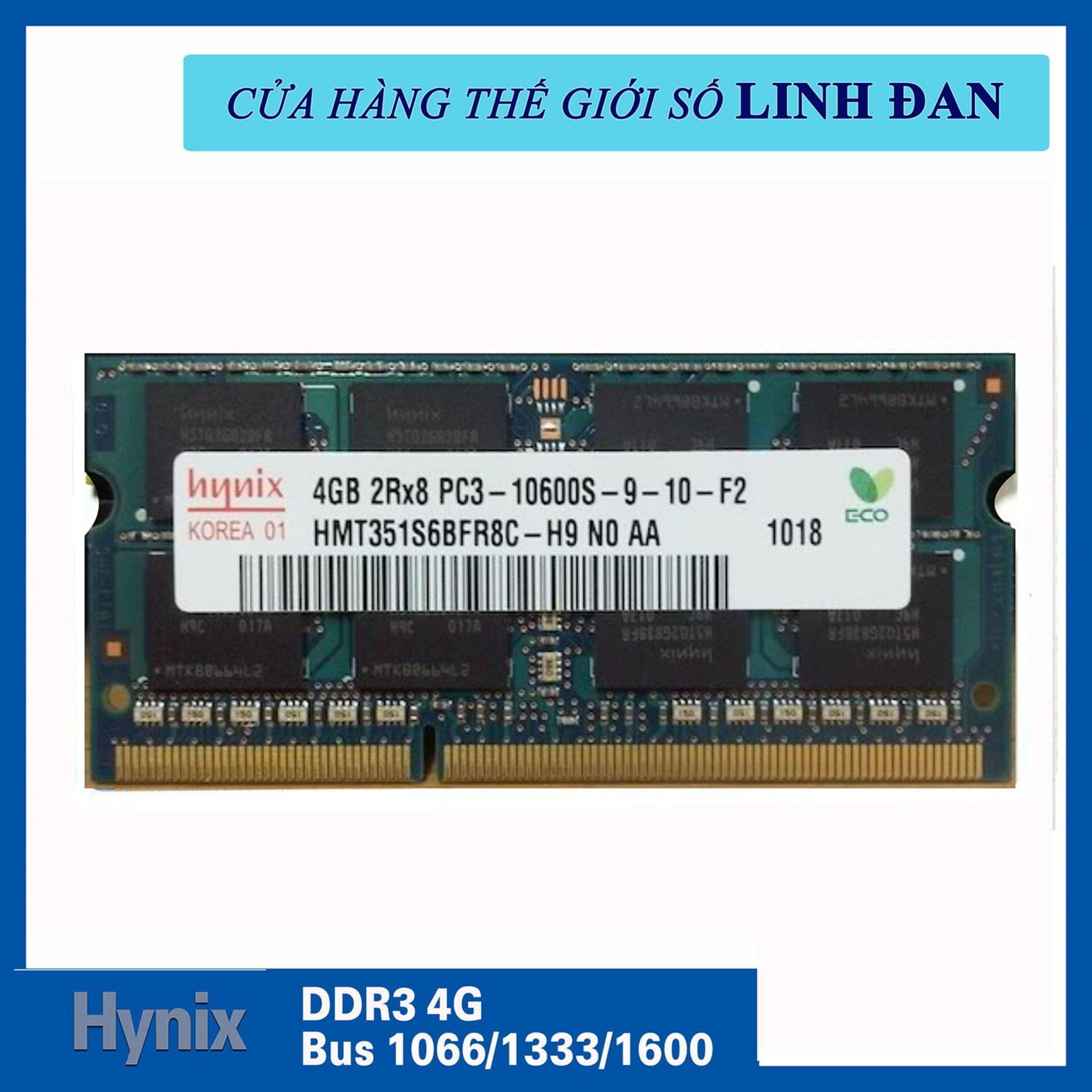 Hình ảnh Ram Laptop Hynix DDR3 4GB Bus 1066/1333/1600