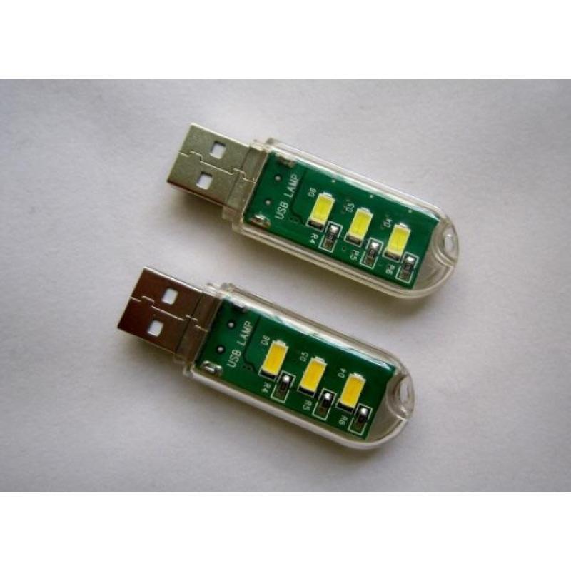 Bảng giá Đèn Led USB 3 Led trong Suốt Siêu Sáng Phong Vũ