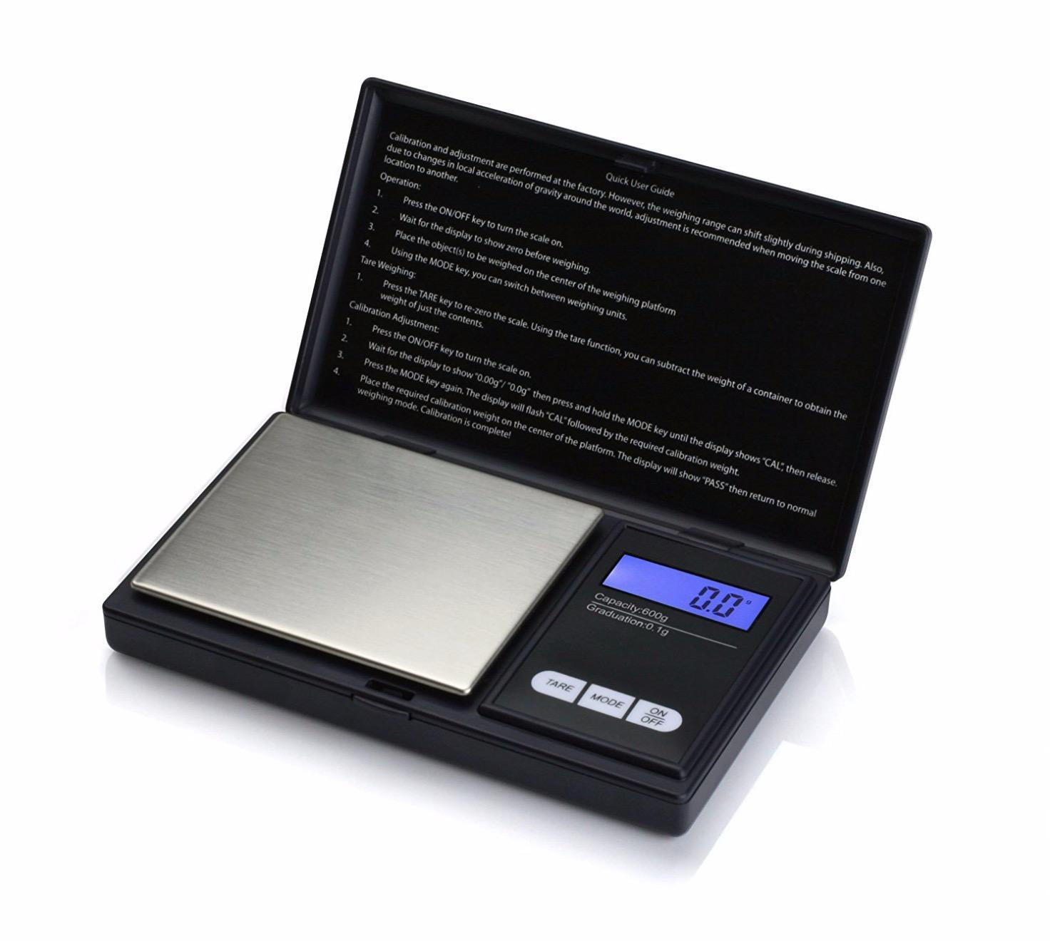 Cân điện tử bỏ túi mini, Cân tiểu ly 100g/0.01g B.201