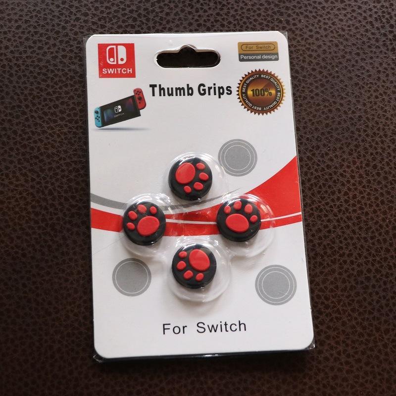 Hình ảnh Núm bọc analog cho Joycon - Nintendo Switch - Màu đỏ