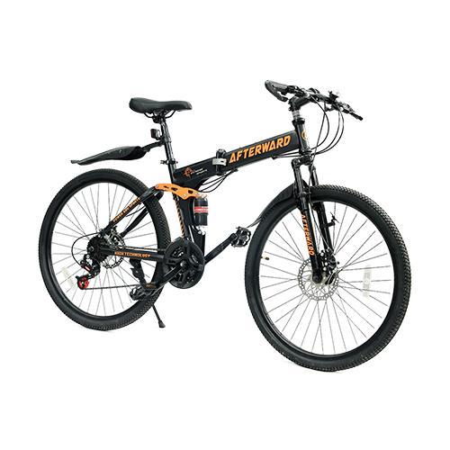 Xe đạp gấp địa hình AfterWard MK94 + bơm và khóa chống trộm