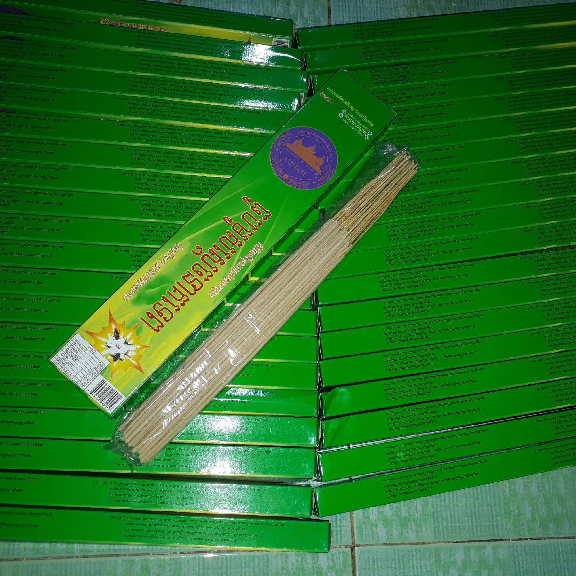 Hình ảnh Combo 30 hộp nhang trừ muỗi Campuchia dạng thanh
