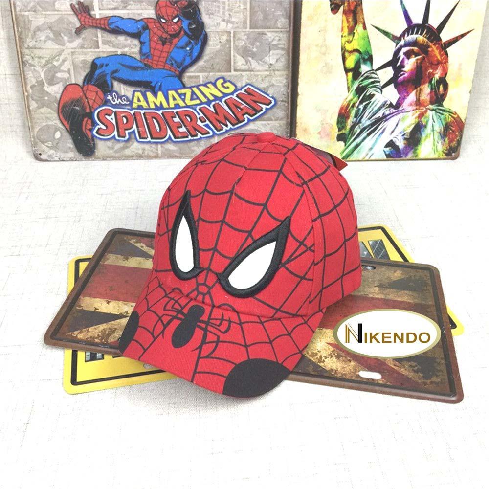 Hình ảnh Mũ – Nón lưỡi trai hình siêu nhân người nhện Spider man cho bé trai