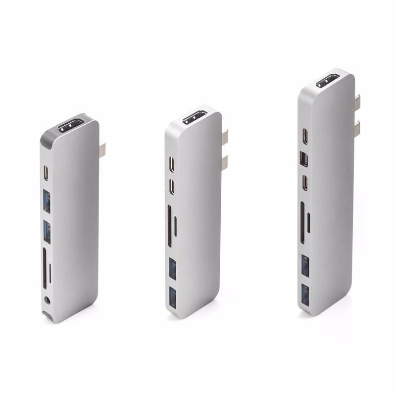 Bộ chia HyperDrive PRO 8-in-2 Hub for USB-C MacBook Pro gồm 8 cổng 4K HDMI, 4K Mini DisplayPort, 40Gb/s USB-C với 100W Power Delivery, 5Gb/s USB-C với 60W Power Delivery, SD, microSD, 2 x USB 3.1 – Review và Đánh giá sản phẩm